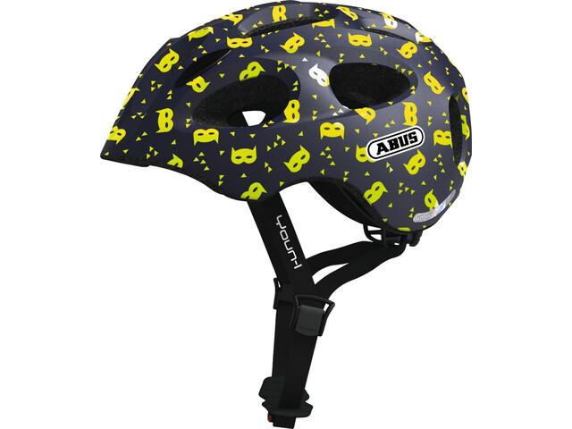 ABUS Youn-I Helmet Kids blue mask
